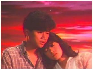 映画「愛・旅立ち」より。近藤と中森